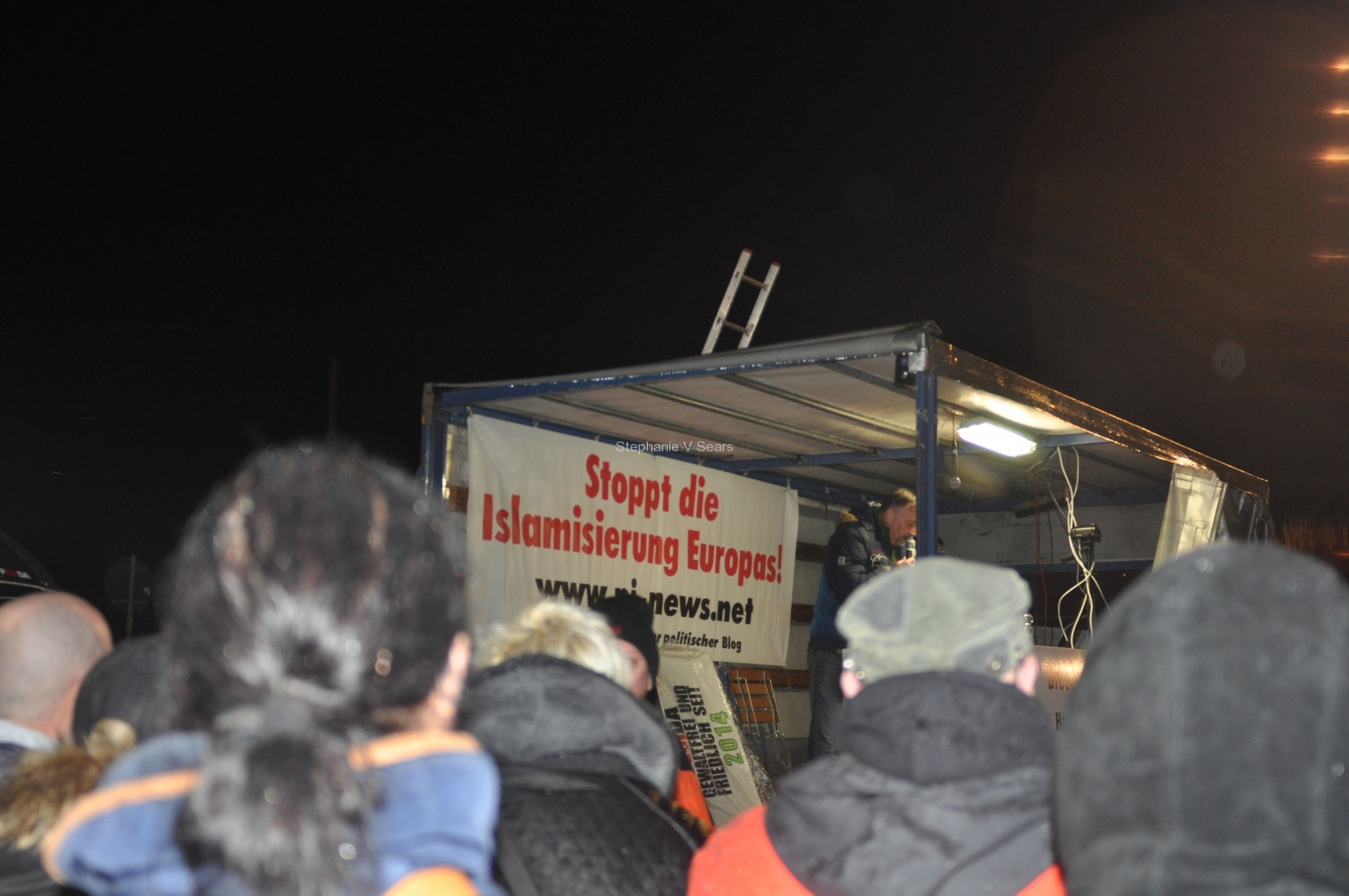 Pegida,, Dresden, month of March